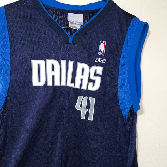 premium selection 91da2 daed9 DALLAS MAVERICKS REEBOK JERSEY